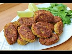 I will bake them instead of frying Red Lentil Kebab Recipe (Gluten-free & Dairy-free) Kebab Recipes, Lentil Recipes, Vegetable Recipes, Indian Food Recipes, Whole Food Recipes, Cooking Recipes, Vegan Foods, Vegan Vegetarian, Vegetarian Recipes