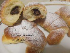 Cornetti di pan brioche alla nutella - ricetta con lievito madre
