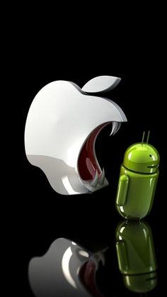 Apple Against Android Wallpaper for Android, iPhone and iPad Ipad Air Wallpaper, Iphone 5 Wallpaper, Apple Wallpaper Iphone, Apple Iphone, Apple Laptop, Iphone 5c, Funny Quotes Wallpaper, Funny Wallpapers, Wallpapers Android