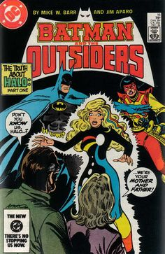 Chris is on Infinite Earths: Batman and the Outsiders #16 (1984)