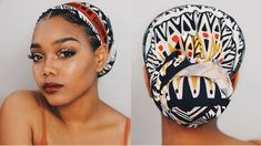 Headwrap for the Low Low Hair Wrap Scarf, Hair Scarf Styles, Curly Hair Styles, Natural Hair Styles, Headwraps For Natural Hair, Scarf Head Wraps, Mode Turban, Pelo Afro, African Head Wraps