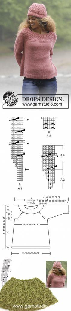 Namdalen / DROPS 179-1 - Free knitting patterns by DROPS Design