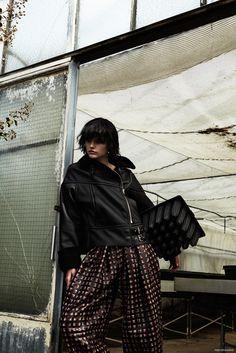 Jordan van der Vyver wears coats and sweaters for Photoshoot