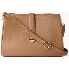 FOREVER 21 Refined Faux Leather Crossbody