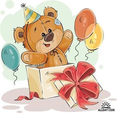 Buy Vector Illustration of a Brown Teddy Bear Peeking by vectorpocket on GraphicRiver. Vector illustration of a brown teddy bear peeking out of a gift box.