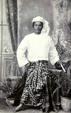 Portrait of an unidentified Burmese man c. 1875 by German ethnologist and explorer Fedor Jagor.