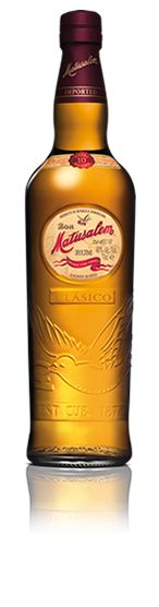 Matusalem Clásico Solera 10 is produced with select rums aged in oak barrels, using the Solera process. It is a rum of very high quality with a distinctive flavor and exceptional smoothness. Ideal for drinking neat or on the rocks and perfect for cocktails. (read tasting notes...)