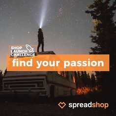 There's no better time than now to do what you love! By opening a Spreadshop by November 23rd, you'll be entered to win $500! You can create a shop about whatever your passion may be and earn money when people buy your designs on merch. Get started today!