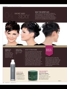 Mister AnhCoTran - Ginnifer Goodwin Short and Sexy Pixie! How to describe it to your hair dresser.  Not sure if I am brave enough for the back!