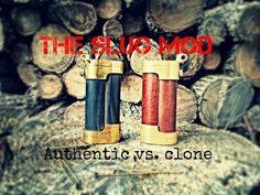 The Slug Mod by Metal Punk- Genuine vs. Clone! VapingwithTwisted420 - http://steampunkvapemod.com/the-slug-mod-by-metal-punk-genuine-vs-clone-vapingwithtwisted420/