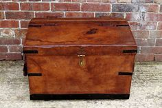 Car Leather Luggage Box 1920s