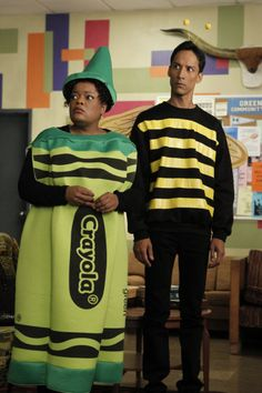Yvette Nicole Brown as Shirley and Danny Pudi as Abed on Community from the epis...