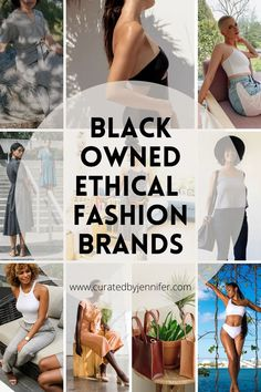 black owned ethical fashion brands Ethical Fashion Brands, Ethical Clothing, All Fashion, Fashion Outfits, Fashion Tips, Fashion Hacks, Fashion Bloggers, Sustainable Fabrics, Sustainable Fashion