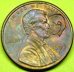Abraham Lincoln & John F. Kennedy CONSPIRACY THEORY Penny!