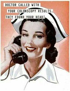 Latter er den beste medisin Retro Humor, Vintage Humor, Vintage Nurse, Retro Funny, Vintage Ladies, Funny Shit, Haha Funny, Funny Stuff, That's Hilarious