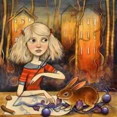 Kelly Vivanco - Purple Fruiting Vine