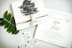 convite casamento rustico arvore rustica