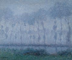 Gustave Loiseau for sale at auction Gustave Loiseau 1865 - 1935 BRUME SUR L'EURE, SAINT-CYR signed G. Loiseau (lower left) oil on canvas 60 by 73 cm., 23 5/8 by 28 3/4 in. Painted circa 1900.
