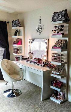 Organización y decoración de espacios de belleza #homedecor