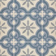 - cement tiles TROUVILLE SW 33.37.27.30 - Couleurs & Matières for shower or kitchen tiled surface in back and behind stove? ?