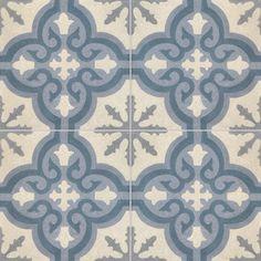 Collection StoneWash - décors 4 carreaux - Carreau TROUVILLE SW 33.37.27.30 - Couleurs & Matières