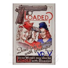 WWII VD Posters