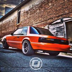 Neal's gorgeous Foxbody Coupe. Still one of the most sought after body styles in the Fox lineup.
