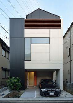 CASE 278 | キャンバスのようなファサードの家(横浜市港北区) | 注文住宅なら建築設計事務所 フリーダムアーキテクツデザイン