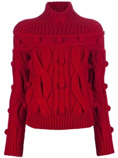 CARVEN - Cable knit sweater 1