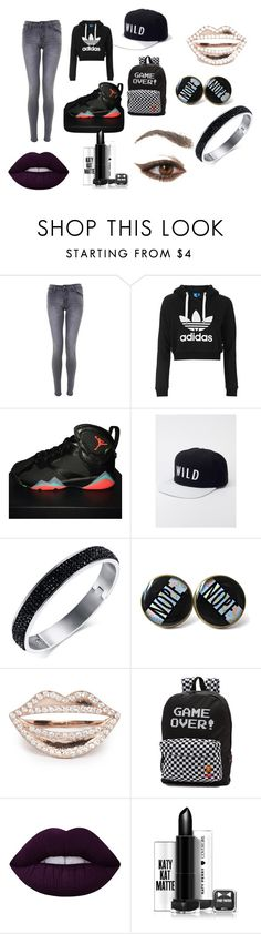 """""""WILDLIFE"""" by pinksavon on Polyvore featuring Topshop, NIKE, Kill Brand, Vans and Lime Crime"""