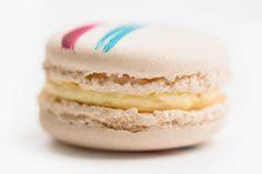 French Vanilla Macaron - DeToni Patisserie and Bakery Macarons