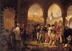 Antoine-Jean_Gros_-_Bonaparte_visitant_les_pestiférés_de_Jaffa.jpg (2763×1972)