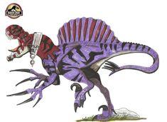 jurassic park world Therizinstegus Length: 14 m Height: 6 m Weight: 6 tons, Mix between: T-rex, Spinosaurus,Stegosaurus,Therizinosaurus and Velociraptor Jurassic World Indominus Rex, Jurassic World Dinosaurs, Jurassic Park World, Dinosaur Art, Dinosaur Fossils, Michael Crichton, Dino Drawing, Science Fiction Games, Dinosaur Wallpaper
