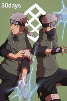 Sakumo and Kakashi, father and son Kakashi Hatake, Anime Naruto, Naruto Shippuden, Hatake Clan, Minato Kushina, Boruto, Ninja, Anime Toon, Manga Anime