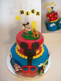 Mickey Clubhouse cake Auckland $299