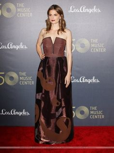 EVENTS: Stana Katic - 50 The Music Center L.A. (2014)