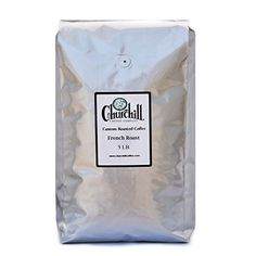 Churchill Coffee French Roast 5 lb Ground ** You can get additional details at the image link. (This is an affiliate link) Coffee Candy, Coffee Drinks, Coffee Effects, Coffee Substitute, Caramel Candy, Coffee Tasting, Churchill, Coffee Beans, Gourmet Recipes