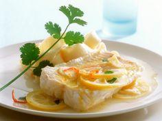 Gebakken kabeljauw met citroensaus - Powered by @ultimaterecipe