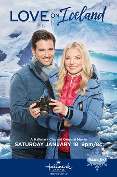 "Jan 2020 - ""Love on Iceland"" stars Kaitlin Doubleday, Colin Donnell, and the epic landscapes of Iceland. Jump into adventure and romance on January part of Winterfest on Hallmark Channel. Classic Comedy Movies, Comedy Movies On Netflix, Action Comedy Movies, Romantic Comedy Movies, Classic Comedies, Romance Movies, Horror Movies, Comedy Comedy, Funny Comedy"