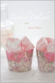 Rose Water Turkish Delight ... the simple version