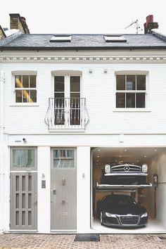 Townhouse // Elvaston Mews, South Kensington.