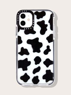 Cute Cases, Cute Phone Cases, Iphone Phone Cases, Pretty Iphone Cases, Aesthetic Phone Case, Earphone Case, Indie, Cow Print, Apple Products