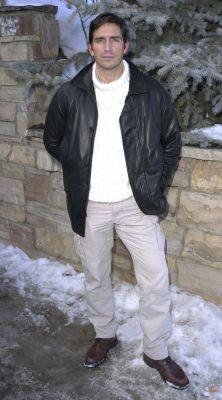 Jim Caviezel during Sundance 2001 - Madison - Portraits in Park City, Utah, United States (23/01/2001)