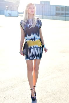 tie dyed dress   #dress  #tie dyed