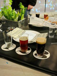 beer-tasting table... MS