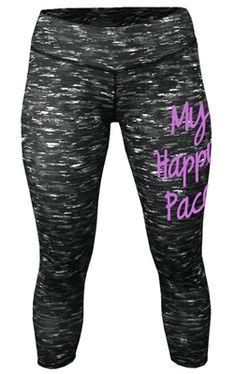 Because my pace is my pace! Nothing sweeter than find your happy pace and feel like your legs gets on automatic pilot! Love it! $32.99 running capri tights