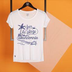 """""""Sur La Plage"""", T-Shirt Stepart de Steven Burke."""