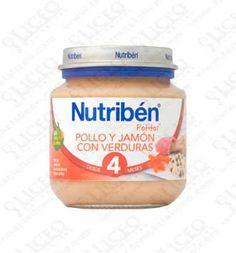 NUTRIBEN POLLO JAMON VERDURA POTITO INICIO 130 GR