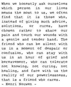 Friendship/relationships