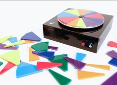 Ever wondered what the sound of colour looked like.... turntable developed to transform coloured discs into sound! #COOL   http://www.thevinylfactory.com/vinyl-factory-news/the-sound-of-colour-turntable-developed-to-transform-coloured-discs-into-sound/